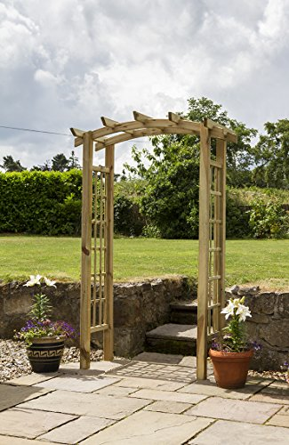 Zest4Leisure Moonlight Arch - FSC Certified Pressure Treated Wood