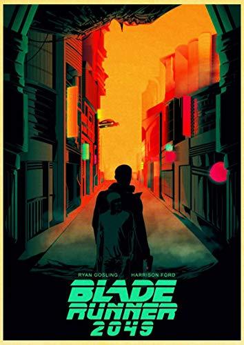 Arte del cartel 30x45cm Sin marco Película Blade Runner 2049 carteles retro arte pintura decoración de la habitación del hogar