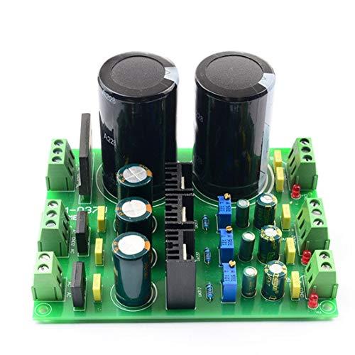 LouiseEvel215 Filtro regulador de rectificador Ajustable multicanal con módulo de Fuente de alimentación de Condensador para Placa de Amplificador de Potencia