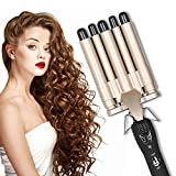Hair Curler, 5 Barrel Wand Hair Waver Curling Iron for Long Or Short Hair Professional Curling Wand Temperature Adjustable Heat Up Quickly Hot Tools