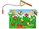 Melissa & Doug Juego Magnético de Cazar Insectos, Juguete de Madera, Juguete de Desarrollo