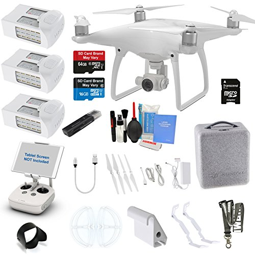 DJI Phantom 4 Quadcopter Kit Bundle with 4K...