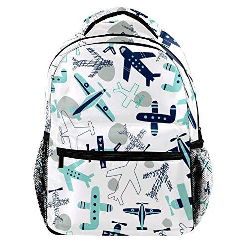 TIZORAX Zaino Squalo Subacqueo Scuola College Bag Bookbag Escursionismo Viaggio Zaino per Donna Uomo Motivo 2 29.4x20x40cm/11.5x8x16 in