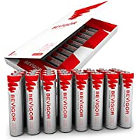 24-Pack Bevigor AAA 1.5V 1100mAh Lithium Batteries