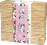 Love Beauty and Planet - Set de regalo con caja de bambú de