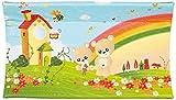 Brevi Confort, Materassino fasciatoio, Multicolore (Arcobaleno), 45 cm x 74 cm