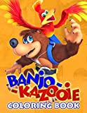 Banjo-Kazooie Coloring Book: An Amazing Coloring Book With Many Images Of 'Banjo-Kazooie'. A Way To Relax And Relieve Stress