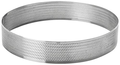 Lacor - 68540 - Molde Aro Redondo Perforado 20x2cm Inox.