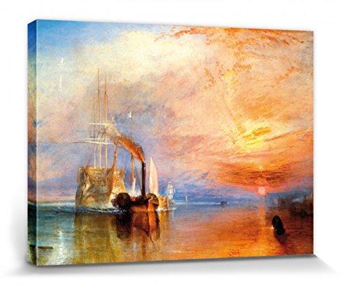 1art1 111550 Joseph William Turner - Die Kämpfende Temeraire, 1839 Poster Leinwandbild Auf...