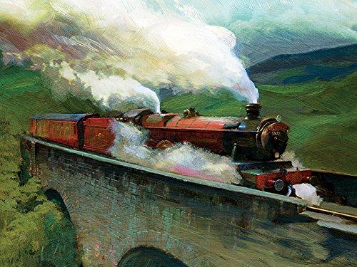 HARRY POTTER (Hogwarts Express Landscape 60 x 80 cm Toile Imprimée