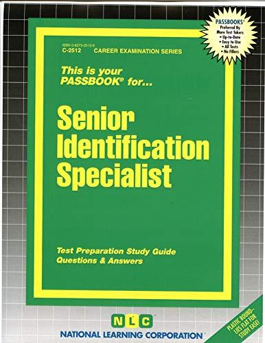 Senior Identification Specialist PDF Books