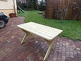 Platan Room Gartenmöbel aus Kiefernholz Gartentisch Kiefer Holz massiv - 4