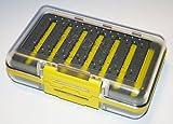 LEEDA Fly Box Yellow Profil Pro Fliegenbox gelb, Einheitsgröße