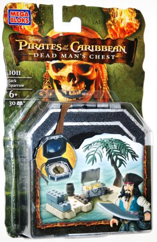 Mega Bloks Pirates of Caribean - Jack Sparrow