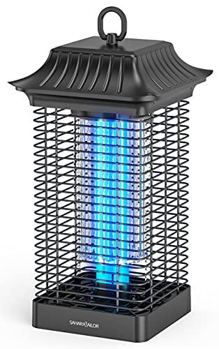 Sahara Sailor Lampada Antizanzare Elettrica,18W Zanzariera Elettrica,4000V Potente Repellente Lampada,portata effettiva 90 m²,per Casa Giardino Interno Esterno Cucina Anti Insetti,Zanzare,Mosca,Falene