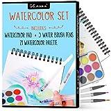 Kassa Watercolor Set - Painting Kit for Kids &...