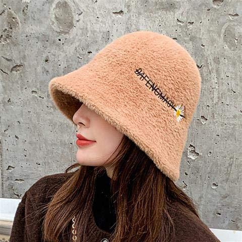 Sombrero de mujer otoño e invierno salvaje pequeña margarita sombrero de pescador...