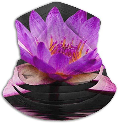 Lotuss-Halswärmer, Lotus-Design, hautfreundlich, bequeme Skimaske, vielseitig, winddicht, Halstuch, Schlauch, für Erwachsene, Kinder, Wanderer, Skifahrer