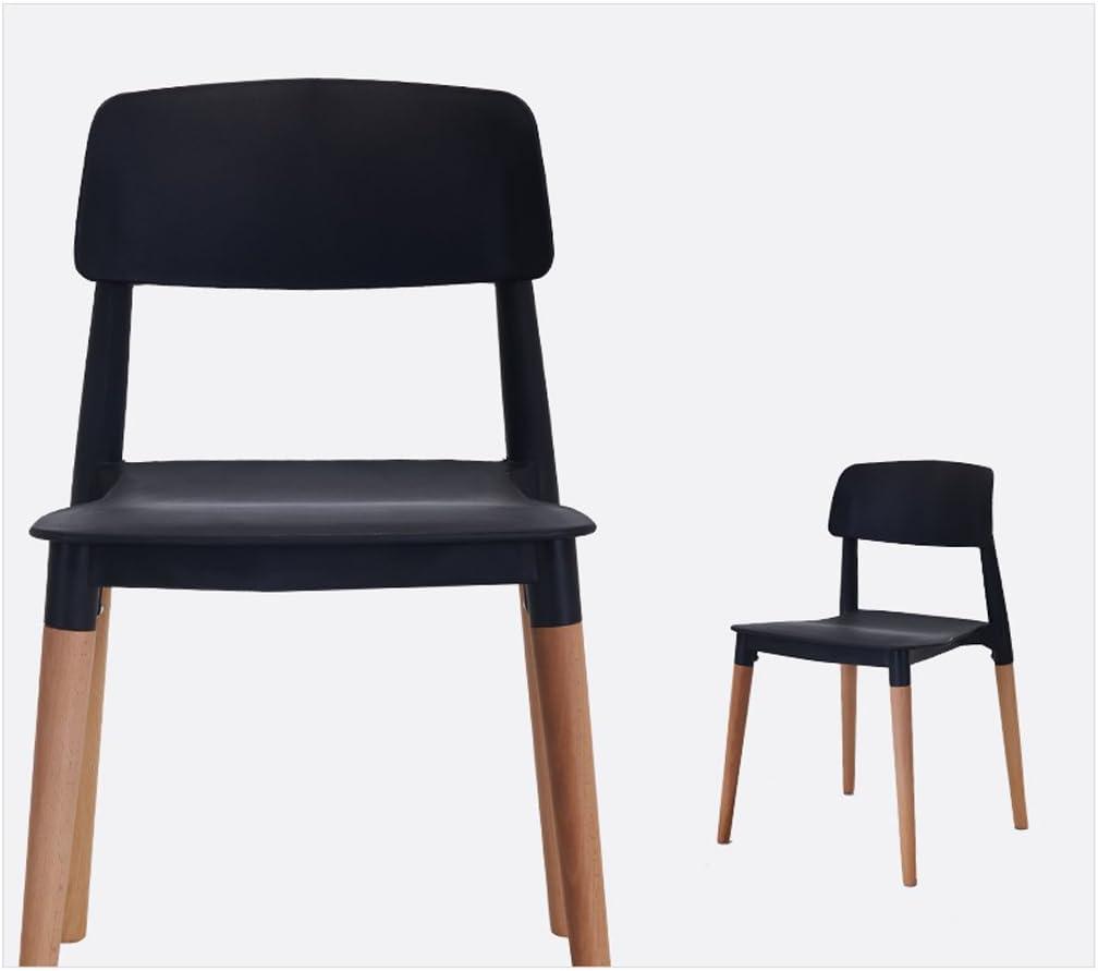 WDX- Chaise de salle à manger en bois simple et moderne mode (Color : F) F