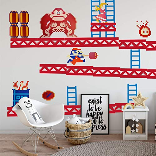 Donkey Kong Wall Decals