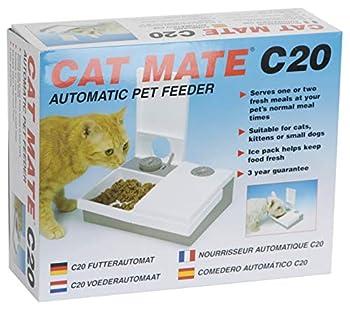 PetMate Distributeur Automatique Cat Mate C20 pour 2 Repas