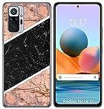 Funda Gel TPU para Xiaomi Redmi Note 10 Pro diseño Mármol 07 Dibujos