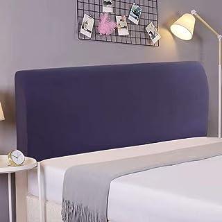 AYWJ Estiramiento cabecero de la Cama Fundas, a Prueba de Polvo cabecera del Dormitorio Protectores Decorativo (Color : Color 17, Size : 220-240cm)