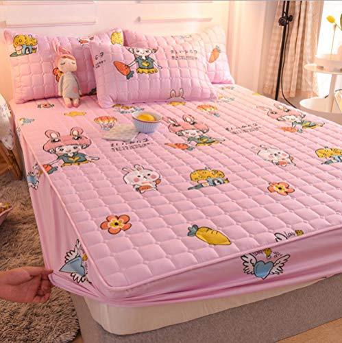 GSYHZL extra groß Bettlaken,rutschfeste Bettlaken aus Polyesterfaser für Herren und...