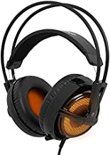SteelSeries Siberia v2 Full-Size Gaming Headset with Built-In USB Sound Card (Heat Orange)