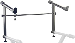 Stagg KXS-AE Extension for KXS A Series Stand with Fixed Height & Adjustable Length - Black