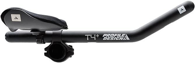 Profile Designs T4+ AL Aero Bar, Black