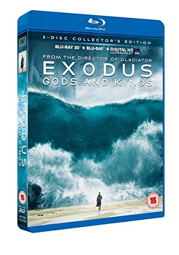 Exodus - Gods And Kings [Blu-ray] [2014]