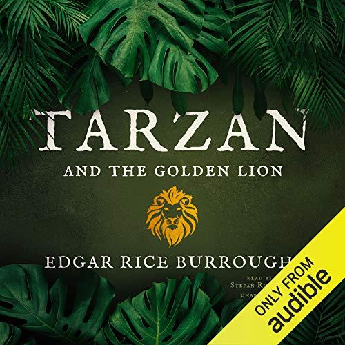 『Tarzan and the Golden Lion』のカバーアート