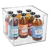 mDesign Aufbewahrungsbox für Lebensmittel – Küchen Ablage mit offener Vorderseite...