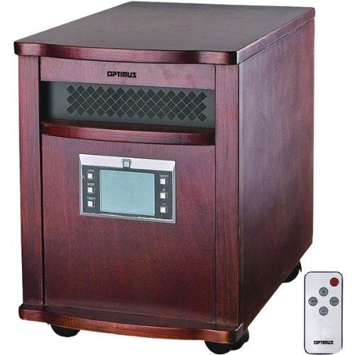 Optimus H-8010 IR Quartz Heater with Remote