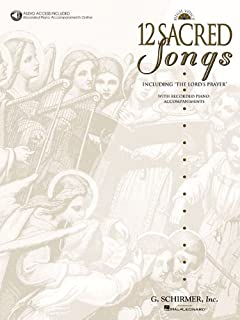 12 Sacred Songs - High Voice
