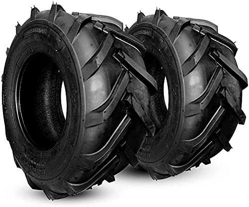 Horseshoe Two (2) NEW 23x10.50-12 8PR Tubeless Tires for Mower Tractor & Golf Cart & Garden Trailer and More (2 Pack) 23105012 T148