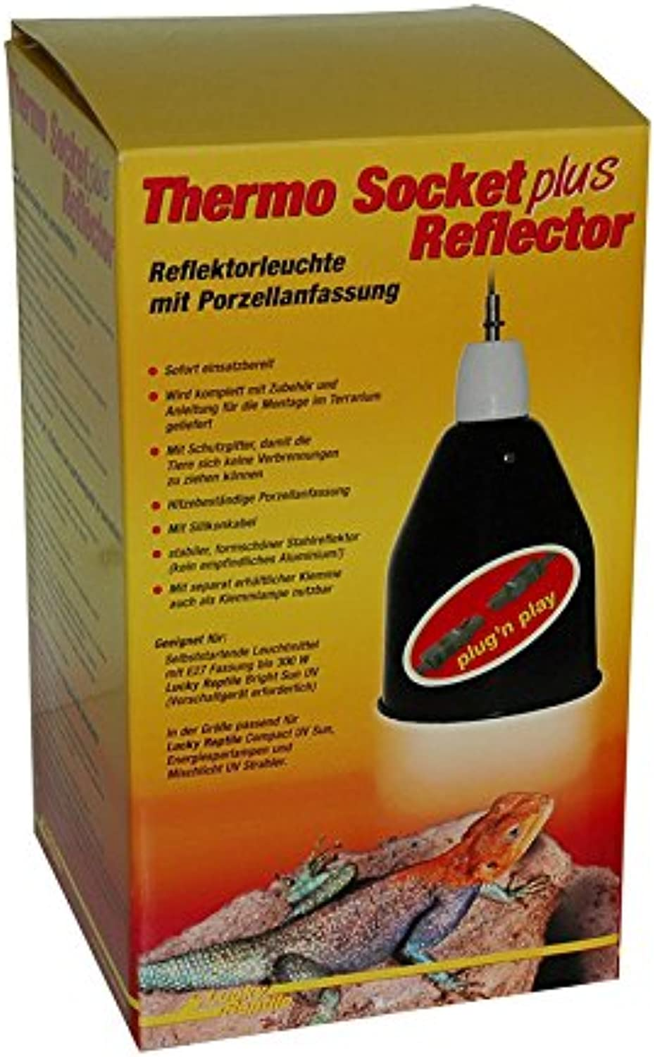 Lucky Reptile Thermo Socket & Reflector PRO Large