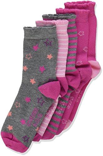 Schiesser Mädchen Socken Kindersocken , 5er Pack, Mehrfarbig (Sortiert 1 901), 27-30 (5-6 Y)