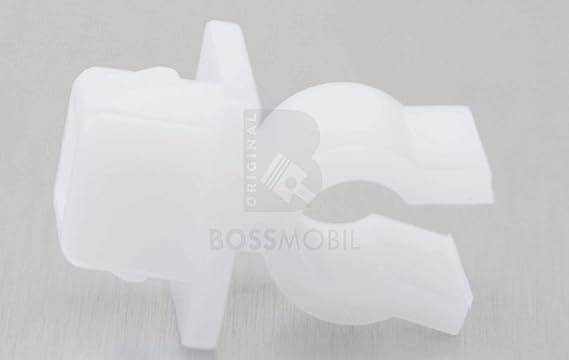 Original Bossmobil Kompatibel Mit Motorhaube Befestigung Halterung Clip Universal Neu 53455 33010 53455 33011 9 5 X 14 X 7 Mm Menge 1 Stück Auto