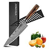 Chef's Knife - Pro Kitchen Knife, 8-Inch Chef's Knife made of German High Carbon Stainless Steel, Ergonomic Handle, Ultra Sharp