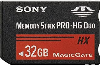 Sony 32 GB Memory Stick PRO-HG HX Duo Flash Memory Card MSHX32G (Black)