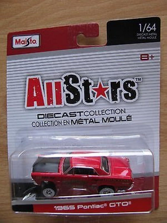 comprar marca Maisto All Estrellas 1 64 1965 Pontiac GTO GTO GTO rojo by Maisto  Ven a elegir tu propio estilo deportivo.