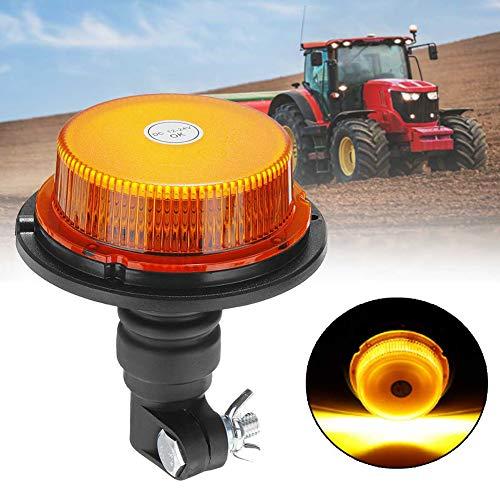 JINGBO 12-24V Coche Camión Estroboscópico Luz De Advertencia 18 LED Luces Intermitentes De Emergencia Lámpara De Faro para Vehículo Agrícola Tractor
