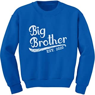 Gift for Big Brother 2020 Siblings Gift Toddler//Kids Sweatshirt