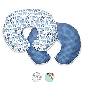 Boppy Premium Nursing Pillow Cover, Fits All Boppy Nursing Pillows and Positioners
