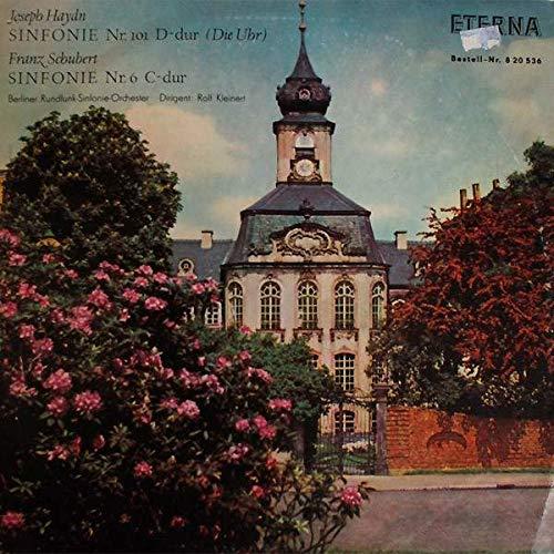 Joseph Haydn , Franz Schubert - Sinfonie Nr. 101 D-Dur (Die Uhr) / Sinfonie Nr. 6 C-Dur - ETERNA - 8 20 536