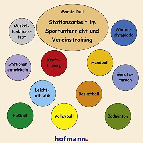 Stationsarbeit im Sportunterricht und Vereinstraining (Arbeits- und Stationskarten)