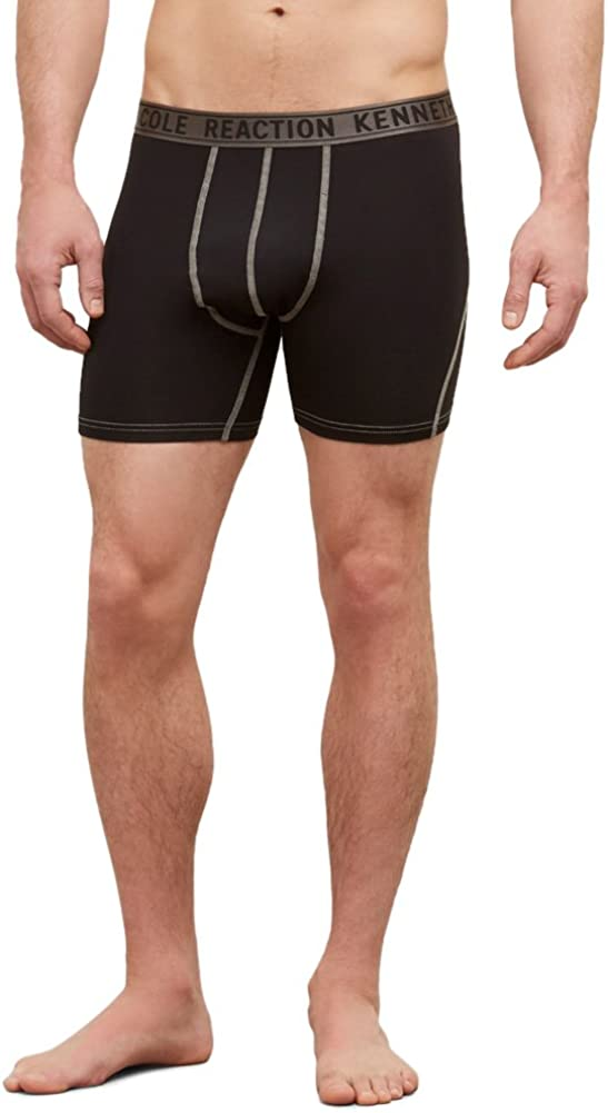 Kenneth Cole REACTION Men's Performance Athletic Sport Boxer Brief