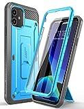 SupCase Funda iPhone 11 [UBPro Serie] 360 Carcasa Antigolpe Case con Protector de Pantalla Incorporado (Azul)